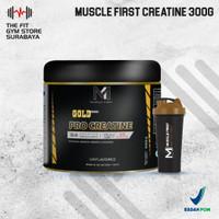 M1 Muscle First pro Gold Creatine 300 gram Creatine Monohydrate BPOM