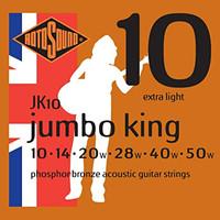 Senar Gitar Akustik ROTOSOUND - Jumbo King / JK 10