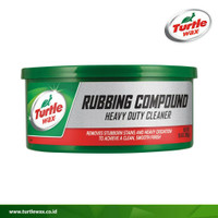 Turtle Wax Rubbing Compound HDC Heavy Duty Cleaner Kompon Pasta 298gr