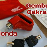 Kunci Gembok Cakram Motor VARIO PCX ADV Original Aksesoris Honda