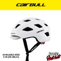 Helm Sepeda Cairbull Urban City bike hat dan Rear light - ORIGINAL