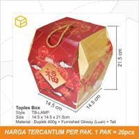 Box Toples Kue Kering Packaging Imlek Sincia CNY Hampers TC - TB-LAMP