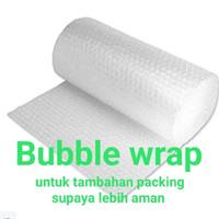 PACKING TAMBAHAN / BUBBLE WRAP / PENGAMAN PAKET / KIRIMAN