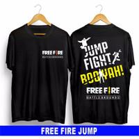 FASHION PRIA FASHION ANAK BAJU/KAOS FREE FIRE FF JUMP