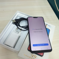 Hp Vivo V9 4/64GB fullset No headset layar retak,normal