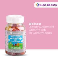 Wellness Gummy Kids Suplemen Untuk Anak 70 Gummy Bears / Vitamin Anak