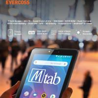 Tablet Evercoss MTab 7 U70C 4G RAM 3GB Internal 32GB Garansi Resmi