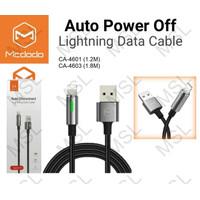 Mcdodo Kabel Data iPhone Lightning Auto Power Off Fast Charging CA-460