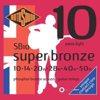 Senar Gitar Akustik ROTOSOUND - Super Bronze / SB 10