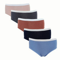 Sorella Panty Pack Cotton Plain S25-73098MIX