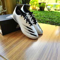 Sepatu Futsal Adidas X Ghosted 4 Size 44 White / Black Original BNIB