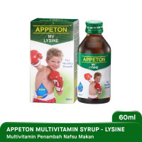 APPETON LYSINE SYRUP 60 ML MULTI VITAMIN ANAK