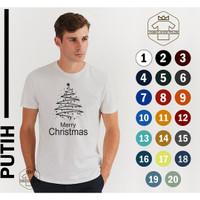 kaoa natal christmas kaos 100% cotton 30s kaos natal pria & wanita01