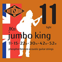 Senar Gitar Akustik ROTOSOUND - Jumbo King / JK 11