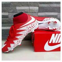 SEPATU BEST SELLER !!! Bola Soccer Mitre Impel D32P White Red BB1052WG