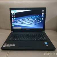 Laptop Lenovo B40 CPU Intel Core i5 Gen4 Ram 8GB SSD 512GB mulus