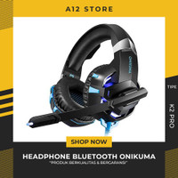 ONIKUMA Gaming Headset Super Bass LED with Microphone