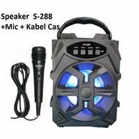 speaker bluetooth plus mic hf 288/339 murah