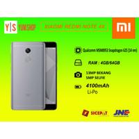 Xiaomi Redmi Note 4X GRAY RAM 4GB ROM 64GB Garansi Distributor 1 Tahun