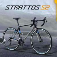 polygon strattos S2 2021 sepeda balap roadbike size M