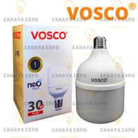 bohlam lampu led bulb tabung led capsule vosco 30w 30 w 30 watt putih