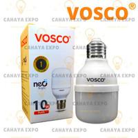 bohlam lampu led bulb tabung led capsule vosco 10w 10 w 10 watt putih