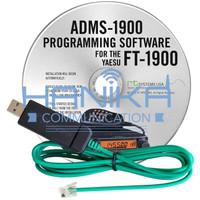 Yaesu ADMS-1900 Kabel Program USB n Software Ori FT2900 FT2980 FT-2900