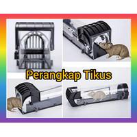 Perangkap Jebakan Racun Tikus Huntermoon Mouse Trap Cage - Black