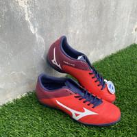 Sepatu futsal mizuno original Rebula V4 IN high risk red new 2020