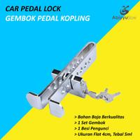 Gembok Kunci Pedal Kopling Mobil Anti Maling - Car Pedal Lock