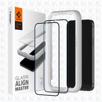 Spigen Tempered Glass Full iPhone 12 / 12 Pro / 12 Pro Max / 12 Mini - 12 or 12 Pro