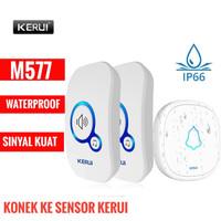 Bel Rumah Wireless Bel Pintu KERUI M577 2 Receiver Waterproof