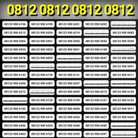 nomor cantik telkomsel simPATI 4G O81212 xx