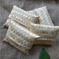 Dompet Bambu Mini Lancip Natural