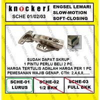 Engsel Lemari Engsel Sendok Slowmotion KNOCKERS SCHE 01/02/03