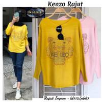 kenz blouse atasan wanita rajut import jumbo terlaris november