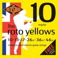 Senar Gitar Elektrik ROTOSOUND - Roto Yellows / R 10