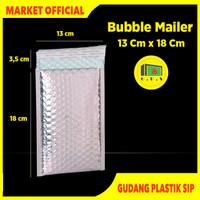 Amplop Bubble Aluminium Bubble Envelope Bubble Mailer 12 x 18 cm