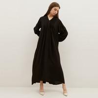 NONA Boho Dress Maxi Black - Nona x Yure Collection