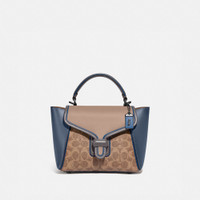 Coach Courier Carryall 23 In Colorblock Signature Canvas -ORIGINAL100%