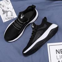 Marelow - Sepatu Sneakers Pria Casual Import - SNK7052 - Black, 39