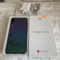 Huawei P20 Pro ram 6GB 128GB Twilight Bekas - Mulus - Fullset