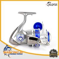 Anyfish Reel Cyborg Pancingan Spinning Metal Kerekan Power Handle