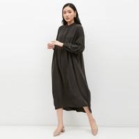 NONA Judge Dress Washed Black
