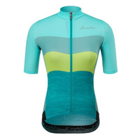 SANTIC 2020 Lady Jersey Colorful Women Baju Sepeda Lipat MTB Roadbike