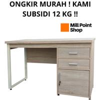 Meja Kantor Minimalis Kayu / Meja Kerja Office / Meja Tulis Belajar - MT 562