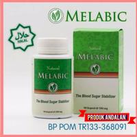 Melabic Obat Diabetes - Melabic 90 Kapsul Menstabilkan Kadar Gula