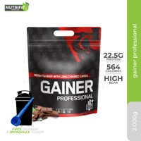 German Forge Gainer Professional 2000gr Mass Protein - Coklat