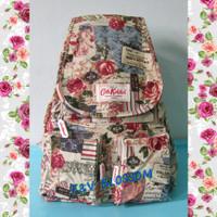 F&V BLOSSOM Tas Ransel Remaja Backpack Cath kidston Rose