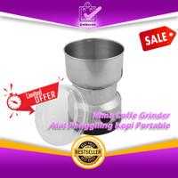 Nima Alat Penggiling Kopi Portable Electric Coffee Grinder 150W 0658
